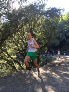 Drake's Jeremy Leary won the Boys' Race.
