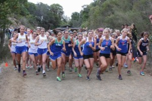 Start of Girls Race at Tam